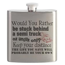Behind or Under Trucking Flask