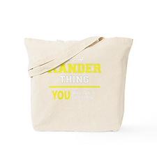 Unique Xander Tote Bag