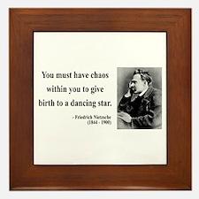Nietzsche 16 Framed Tile