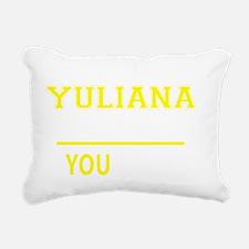 Unique Yuliana Rectangular Canvas Pillow