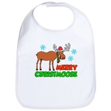 Merry Christmoose Kids Bib