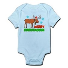 Merry Christmoose Kids Body Suit