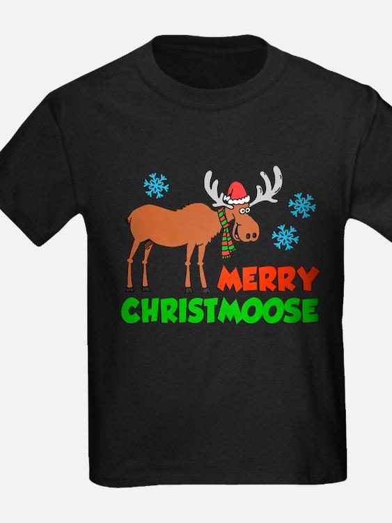 Merry Christmoose Kids T-Shirt