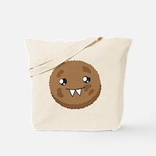 A cute COOKIE Monster Tote Bag
