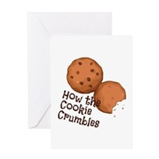 Cookies Crumbles Greeting Cards