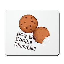 Cookies Crumbles Mousepad