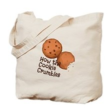 Cookies Crumbles Tote Bag