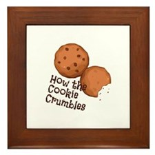 Cookies Crumbles Framed Tile