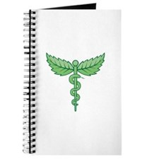 Caduceus with leaves Journal