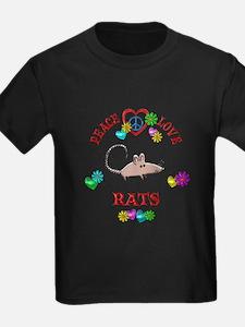 Peace Love Rats T