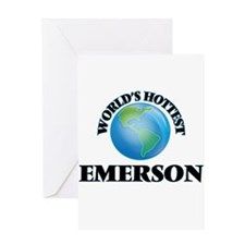 World's hottest Emerson Greeting Cards