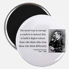 """Nietzsche 15 2.25"""" Magnet (10 pack)"""