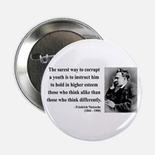 """Nietzsche 15 2.25"""" Button"""