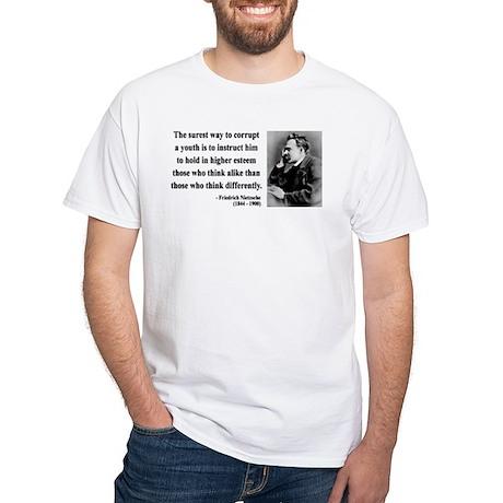 Nietzsche 15 White T-Shirt