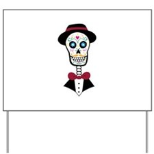 Day Of Dead Yard Sign