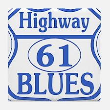 Hwy 61 Blues Tile Coaster