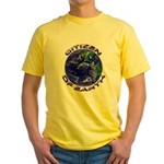 CITIZEN OF EARTH.... Yellow T-Shirt