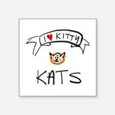 i <3 kitty kats Sticker