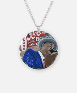 New Orleans Blues Singer Necklace