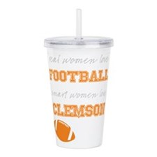 Tiger Football Acrylic Double-wall Tumbler