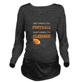 Clemson Dark Maternity Long Sleeves