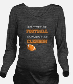 Tiger Football Long Sleeve Maternity T-Shirt
