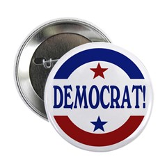 "Democrat! 2.25"" Button (10 pack)"