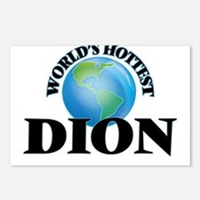 World's hottest Dion Postcards (Package of 8)