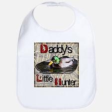 Daddy's Little Hunter Bib