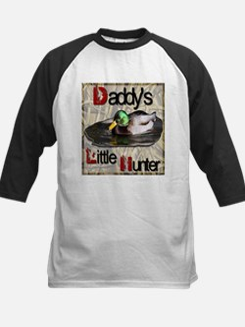 Daddy's Little Hunter Kids Baseball Jersey