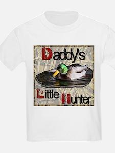 Daddy's Little Hunter T-Shirt