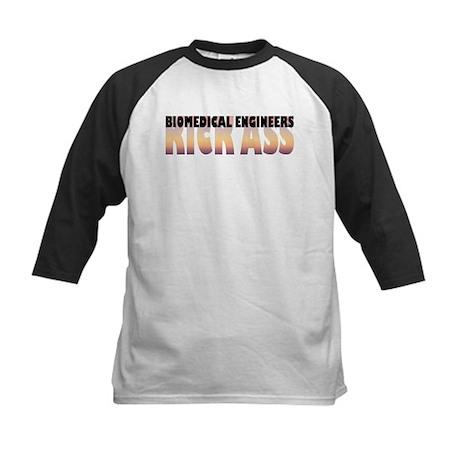 Biomedical Engineers Kick Ass Kids Baseball Jersey