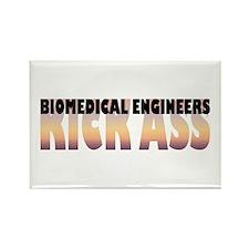 Biomedical Engineers Kick Ass Rectangle Magnet