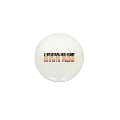 Biomedical Engineers Kick Ass Mini Button (10 pack
