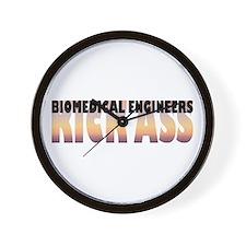 Biomedical Engineers Kick Ass Wall Clock