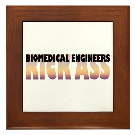 Biomedical Engineers Kick Ass Framed Tile