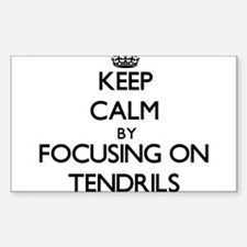 Keep Calm by focusing on Tendrils Decal