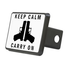 Keep Calm Carry On Hitch Cover
