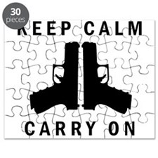 Keep Calm Carry On Puzzle