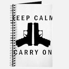 Keep Calm Carry On Journal