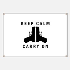 Keep Calm Carry On Banner