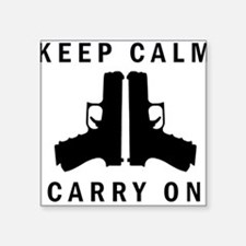 Keep Calm Carry On Sticker