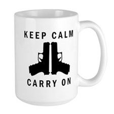 Keep Calm Carry On Mugs