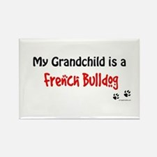 Frenchie Grandchild Rectangle Magnet