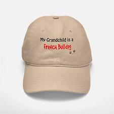 Frenchie Grandchild Baseball Baseball Cap