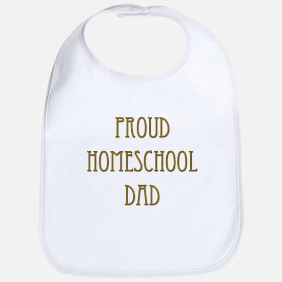 Proud Homeschool Dad 15 Bib