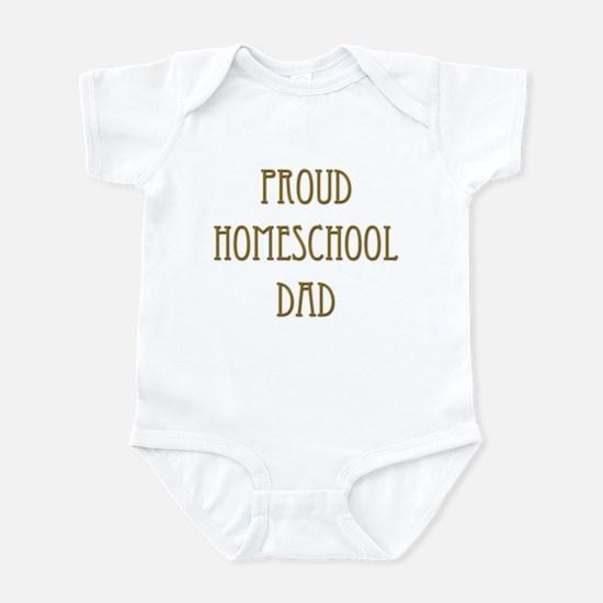 Proud Homeschool Dad 15 Infant Bodysuit