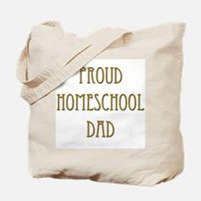 Proud Homeschool Dad 15 Tote Bag