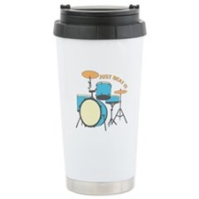 Just Beat It Travel Mug