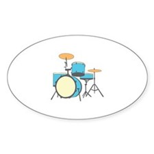 Drum Set Stickers